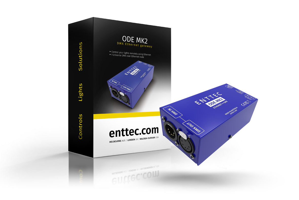 ethernet DMX interface